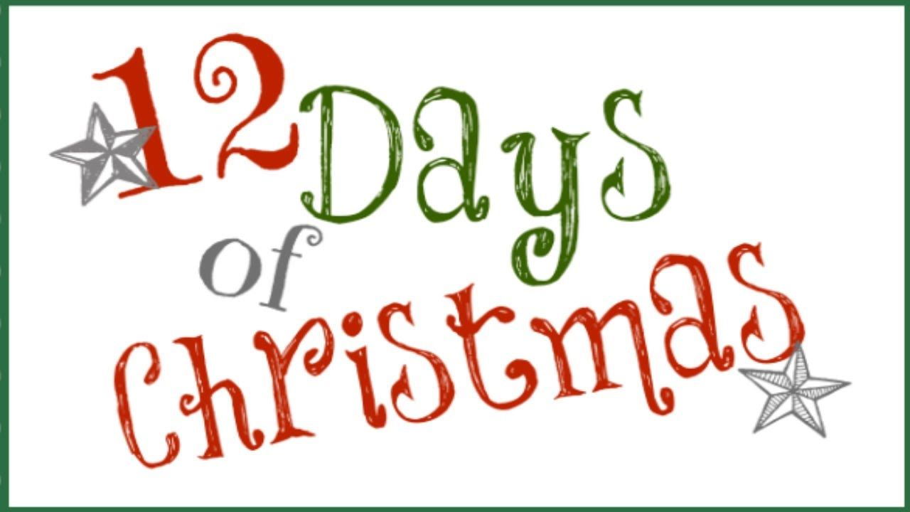 JCE 12 Days of Christmas